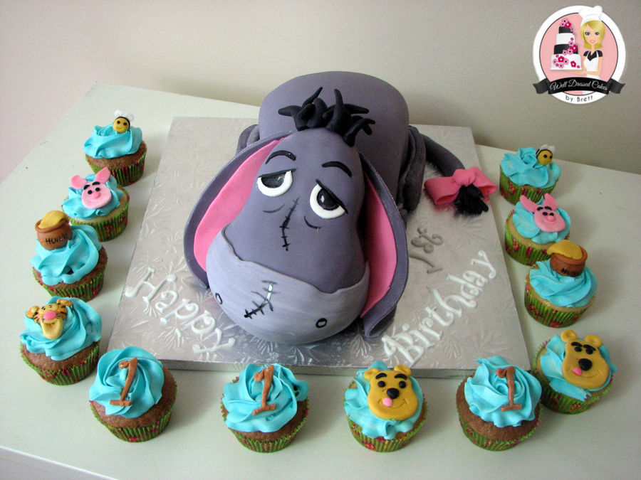 Astonishing Eeyore Birthday 3D Cake Cakecentral Com Funny Birthday Cards Online Inifofree Goldxyz