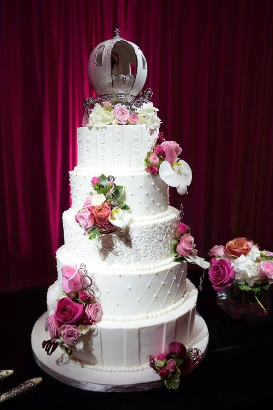 Traditional 5 Tier Buttercream Wedding Cake On Central