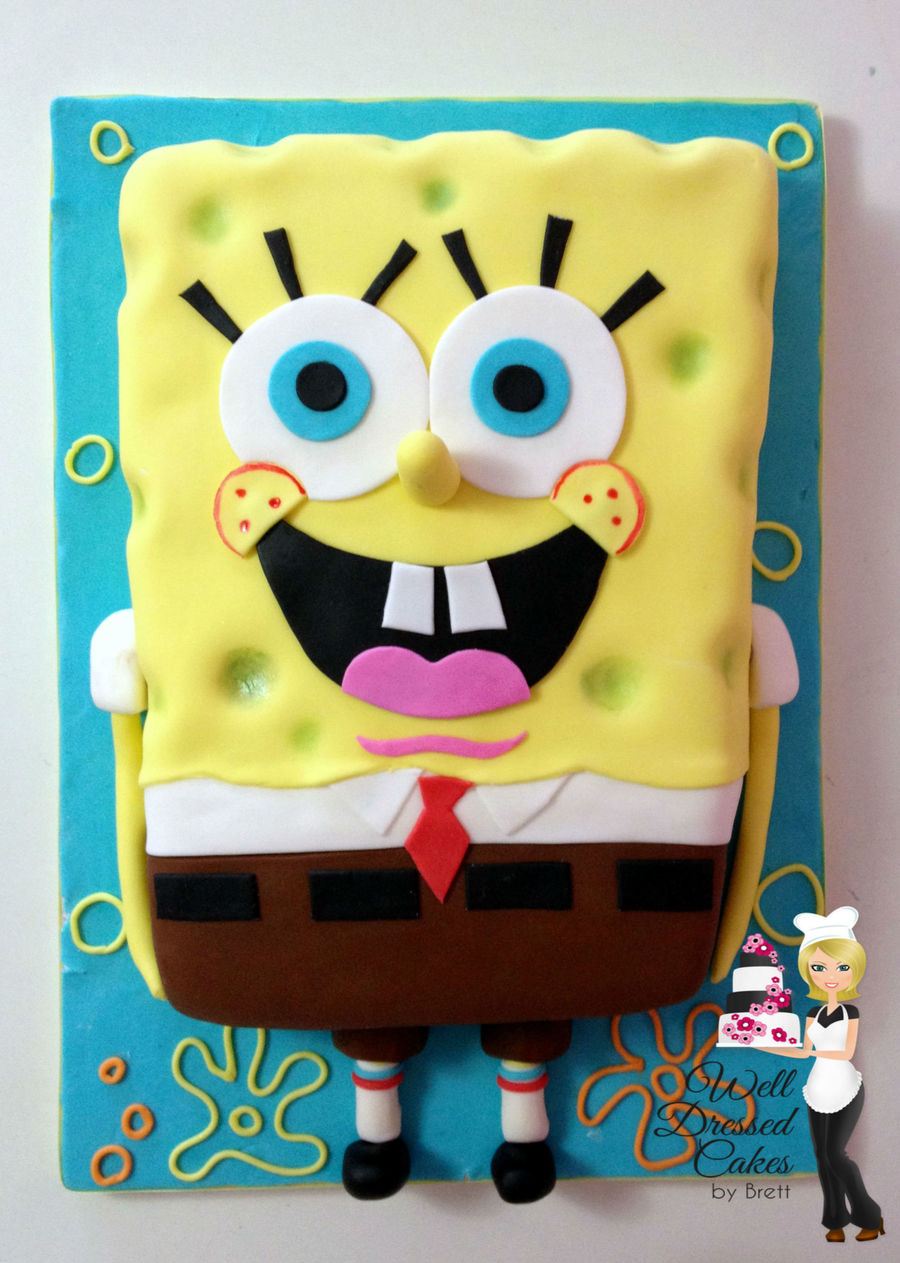 Spongebob Squarepants Cake on Cake Central