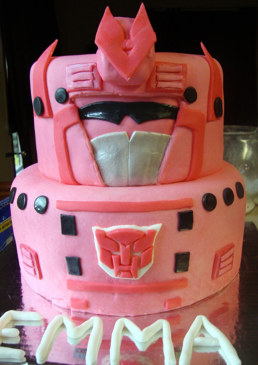 Arcee Transformer on Cake Central