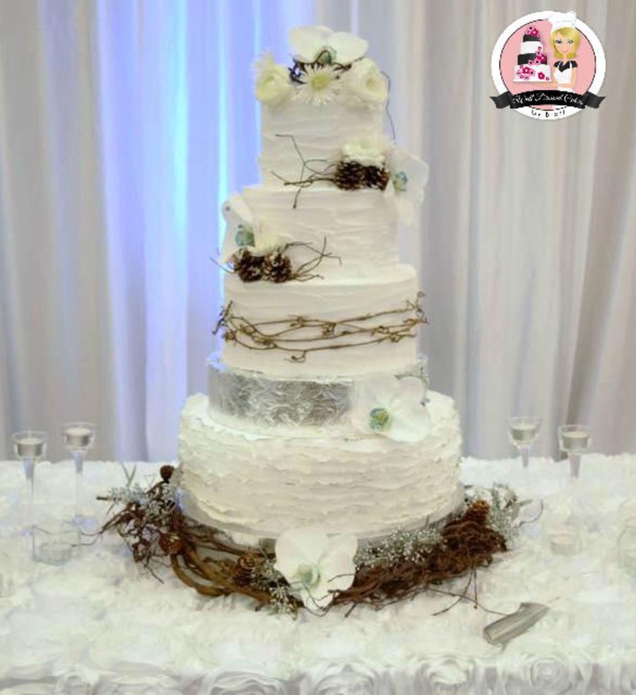 Rustic Wedding Cake: Rustic Elegance Wedding Cake