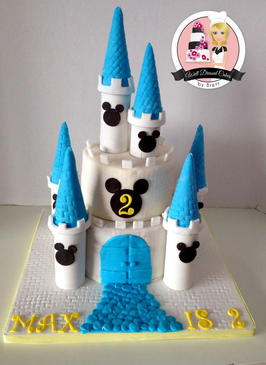 Disney Castle Cakes Ideas