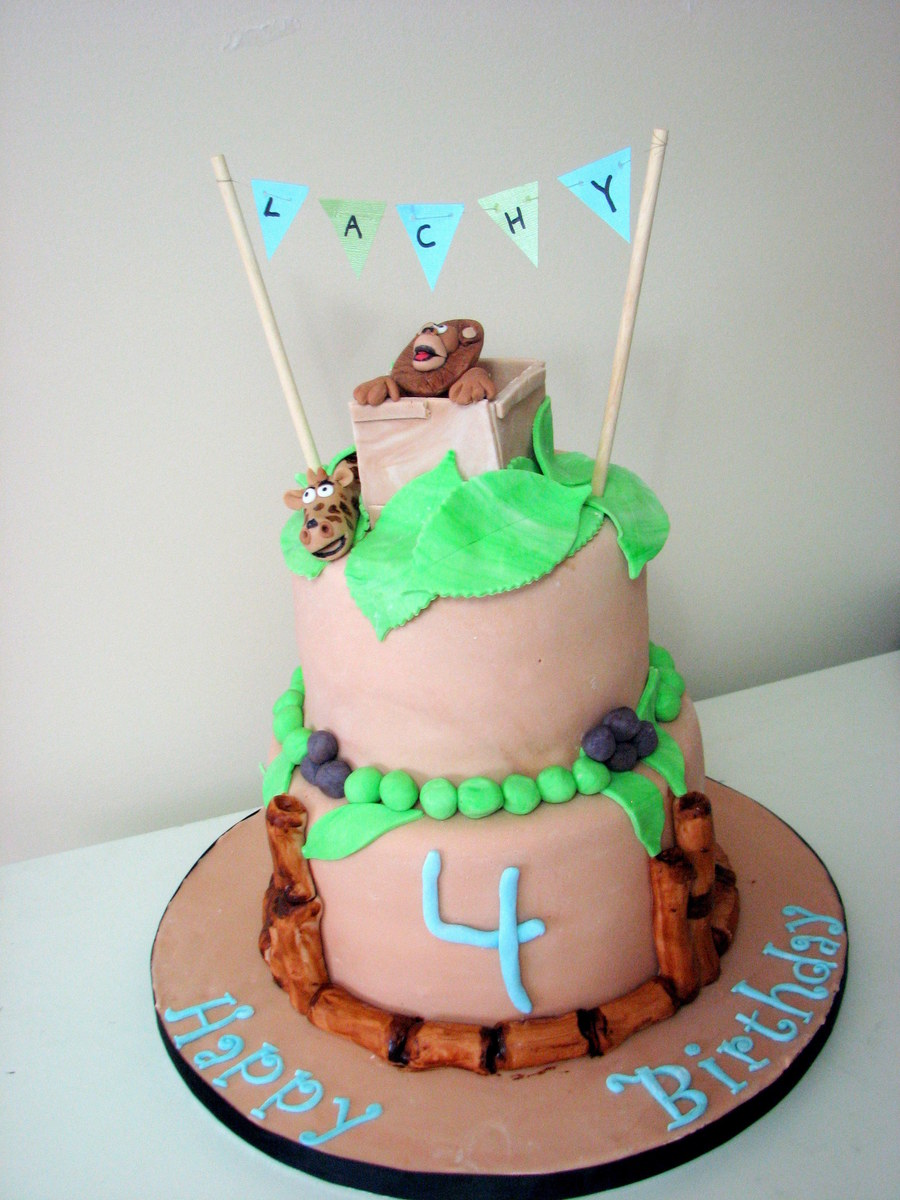 Madagascar Themed Cake on Cake Central