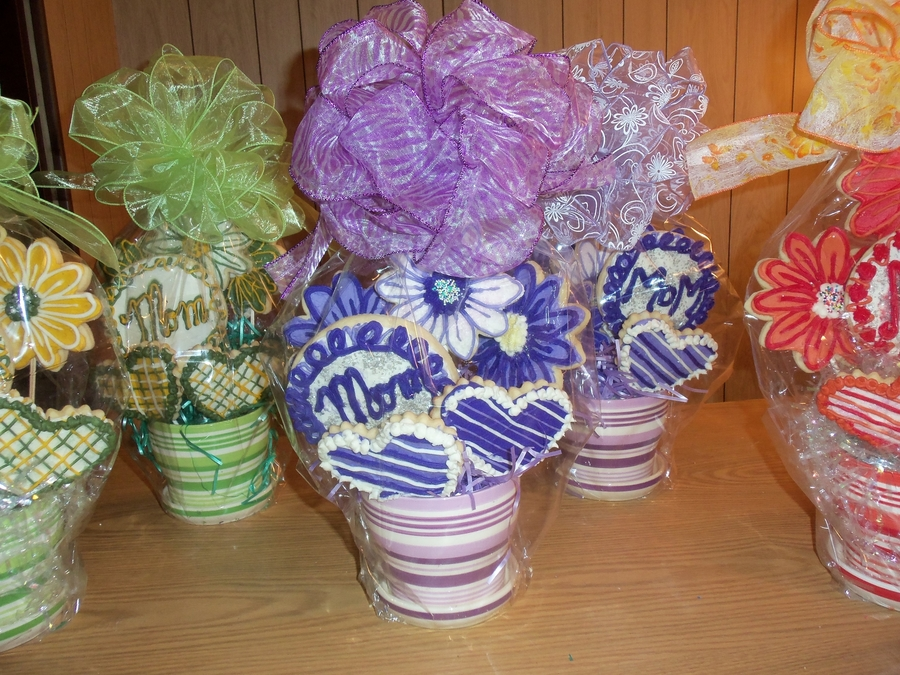 Mother's Day Cookie Bouquets on Cake Central