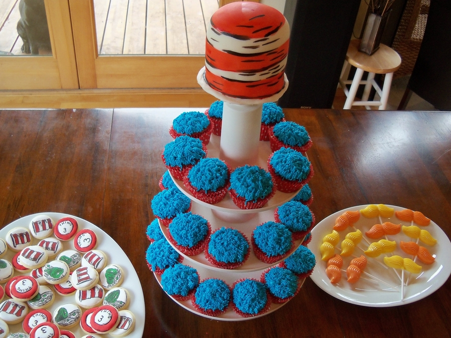 Dr Seuss Themed Baby Shower Treats Cakecentral