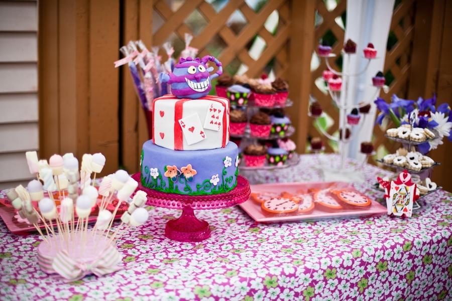 Alice In Wonderland Dessert Table Cakecentral Com