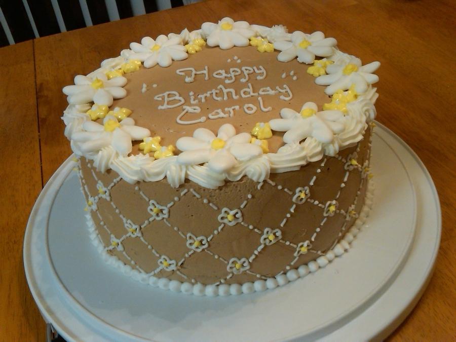Brilliant Daisy Birthday Cake Cakecentral Com Funny Birthday Cards Online Elaedamsfinfo