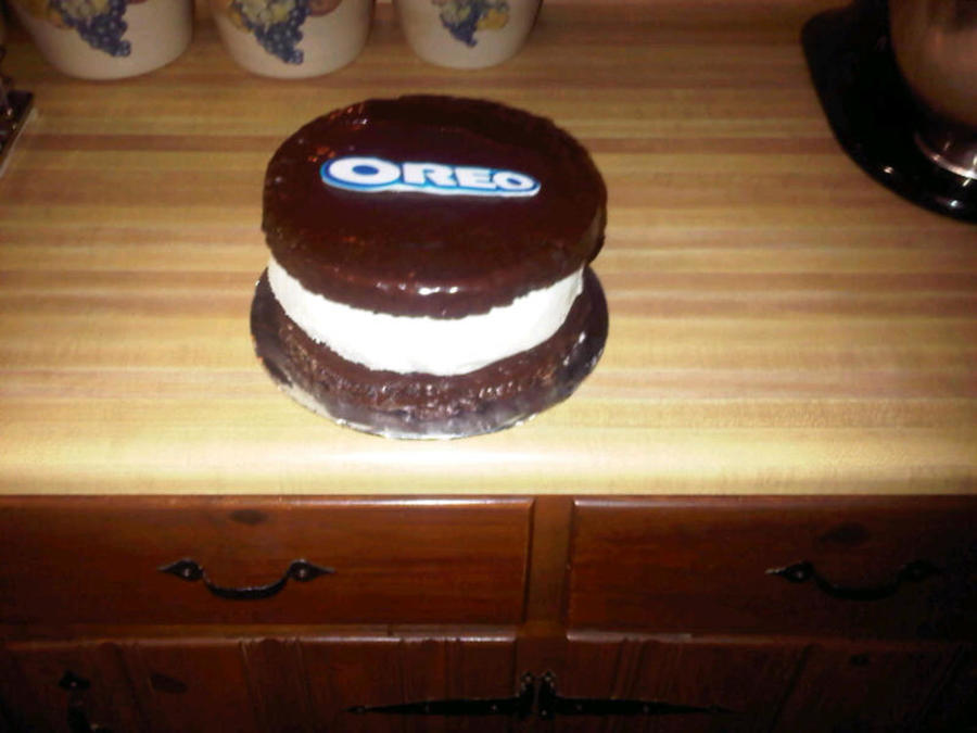 3 D Oreo  on Cake Central