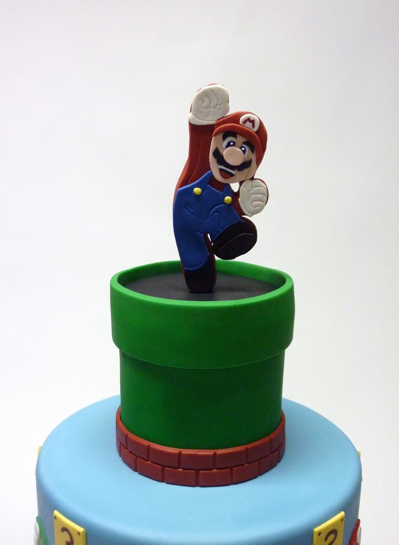 Super Mario Cupcake Tower Cakecentral Com
