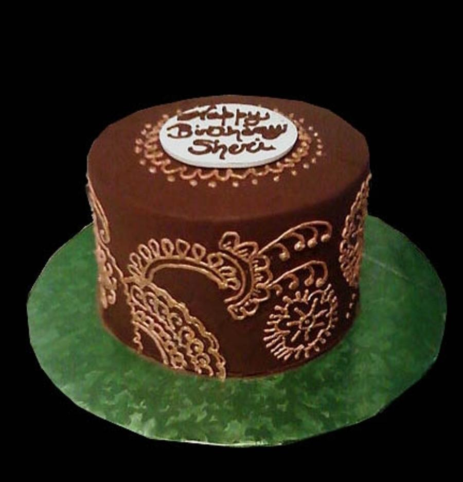 Mehndi Cake Qc : Henna cake tutorial makedes