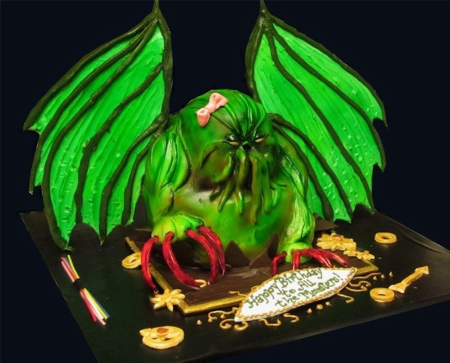 Cthulhu Cake on Cake Central