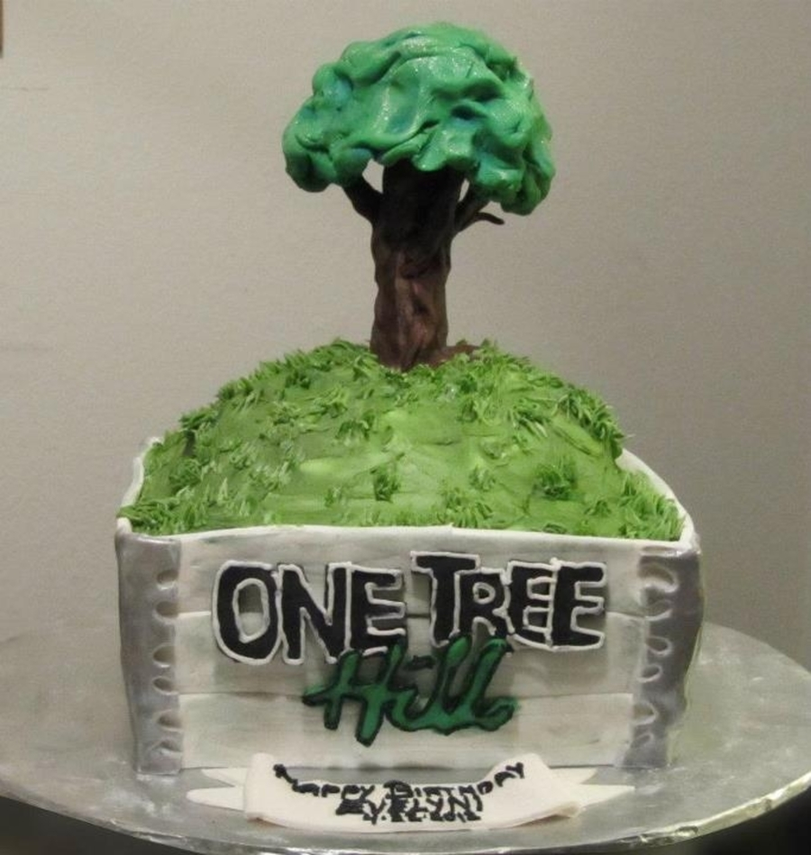 One Tree Hill Cake on Cake Central