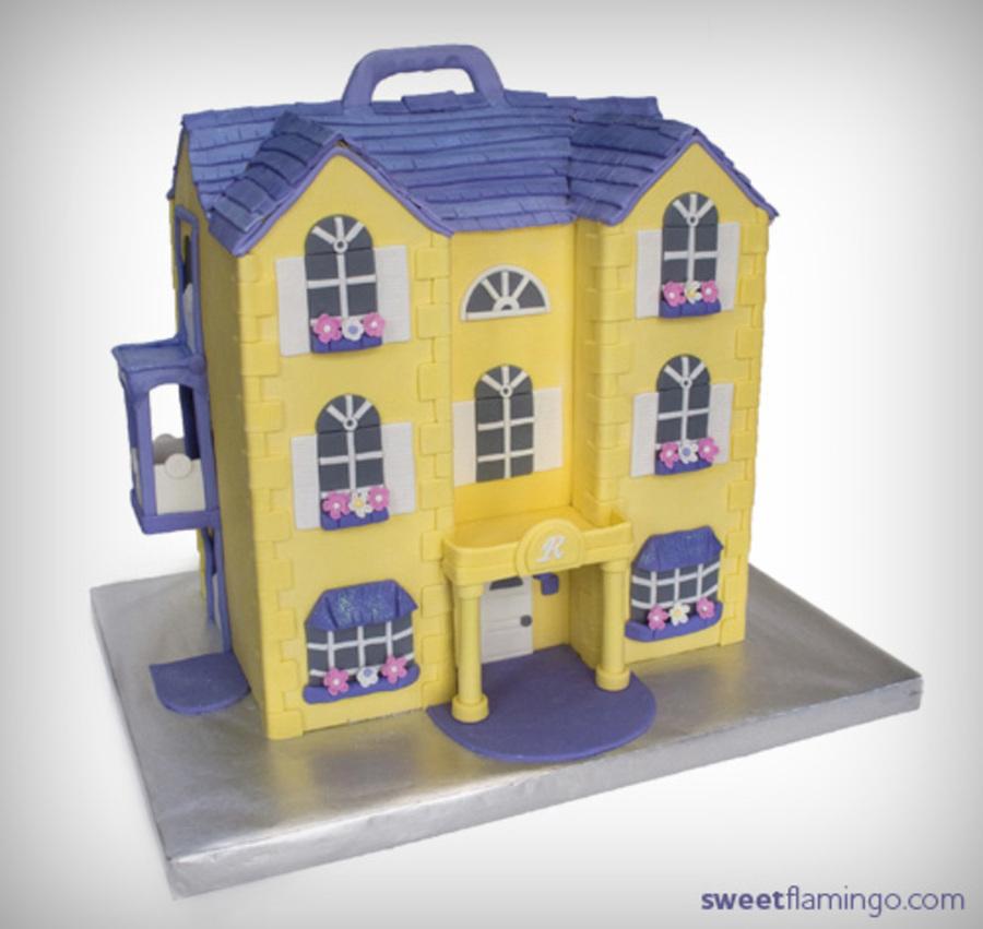A Little Girl S Dream House Cakecentral Com