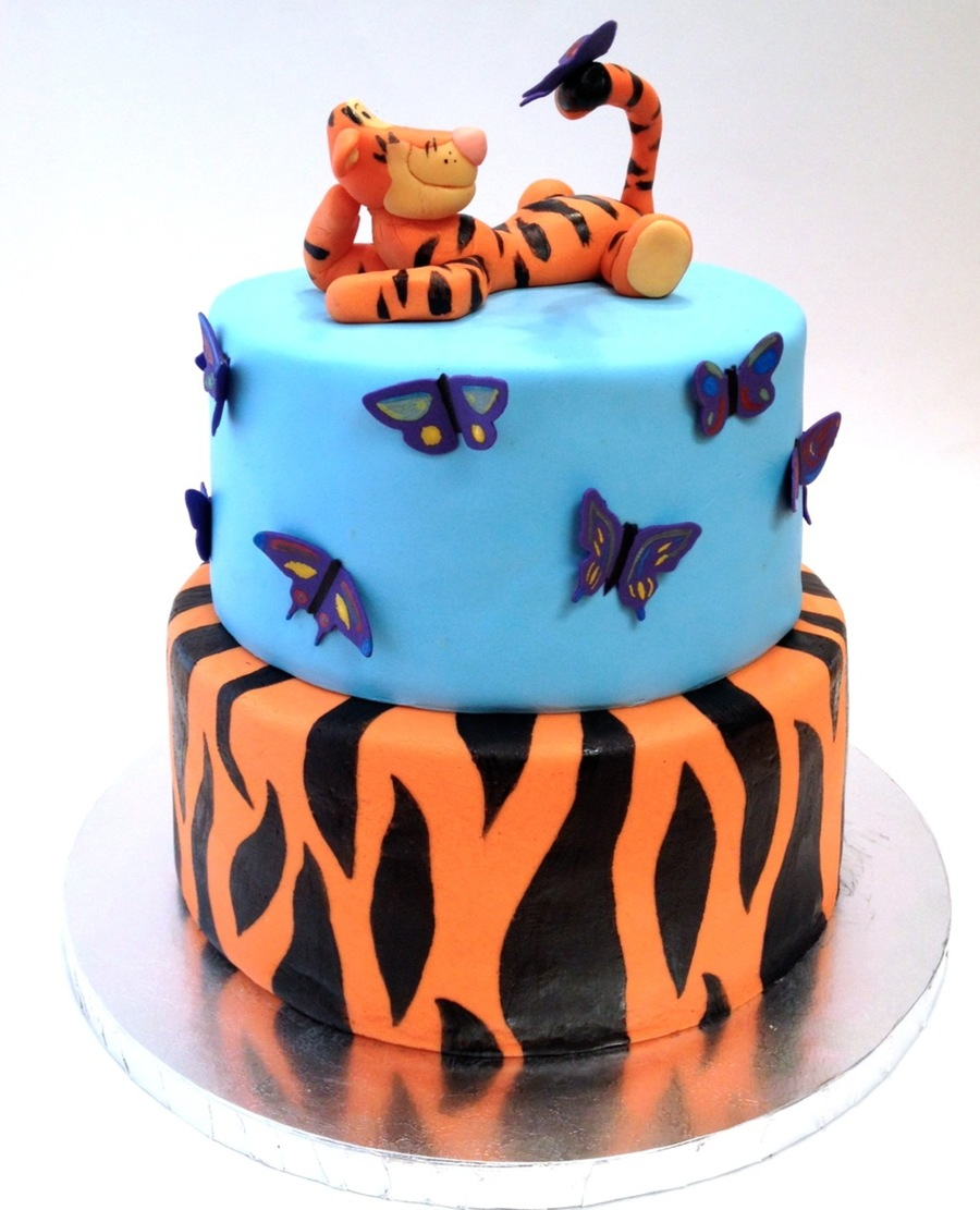 Tigger Birthday Cake Recipe