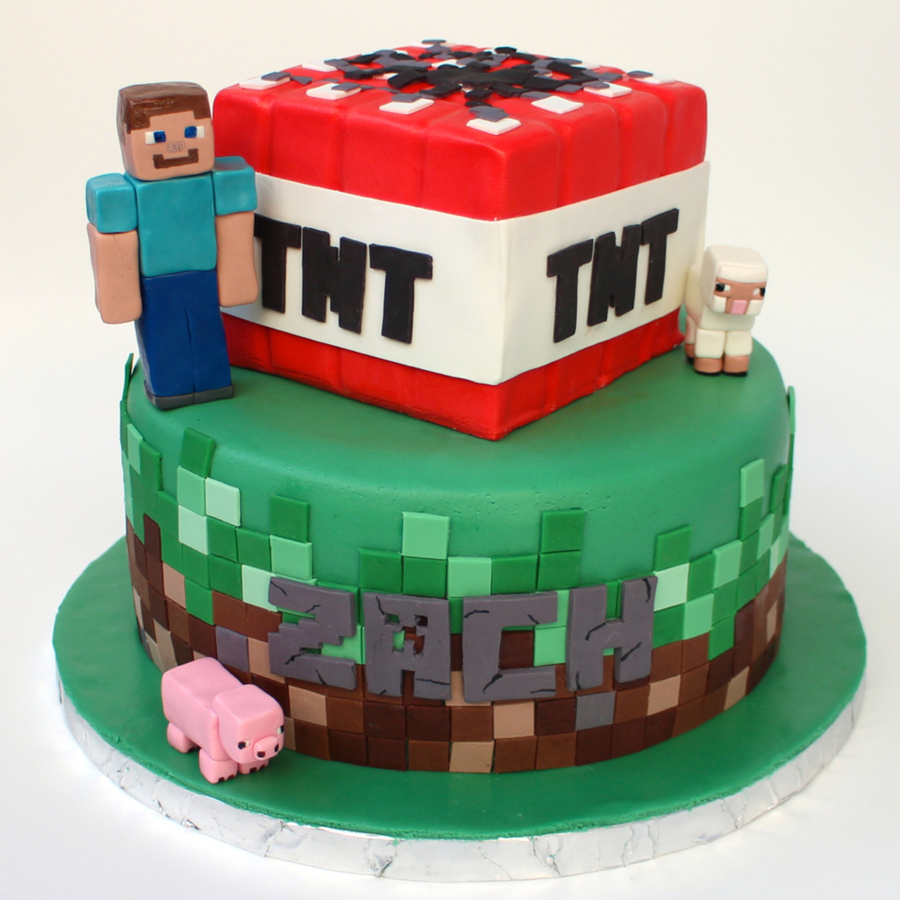 Amazon Minecraft Cake Toppers