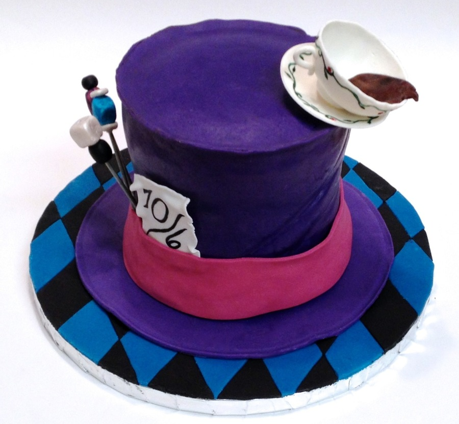 Pictures Of Mad Hatters Birthday Cakes