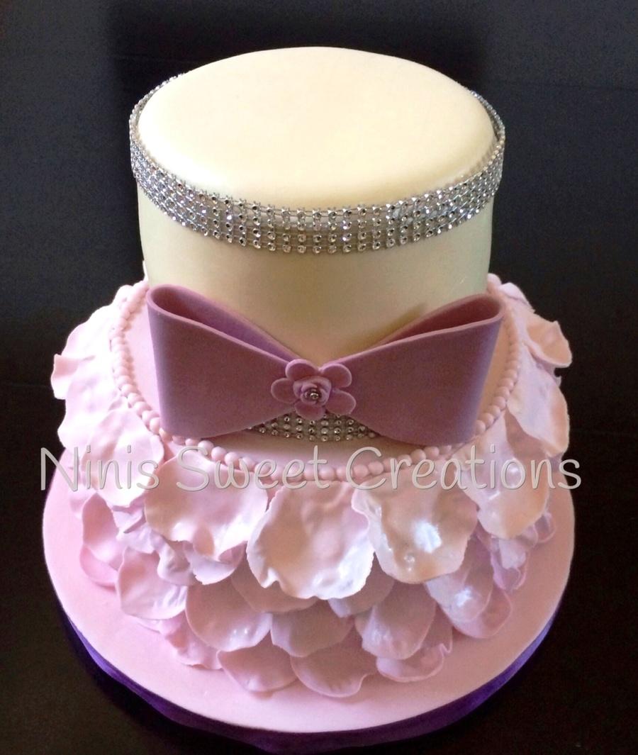 Rose Petal Cake
