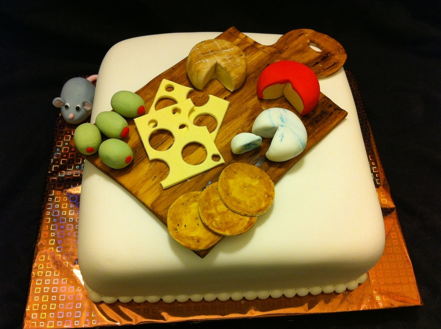 Cheese Platter/cheese Board Cake on Cake Central