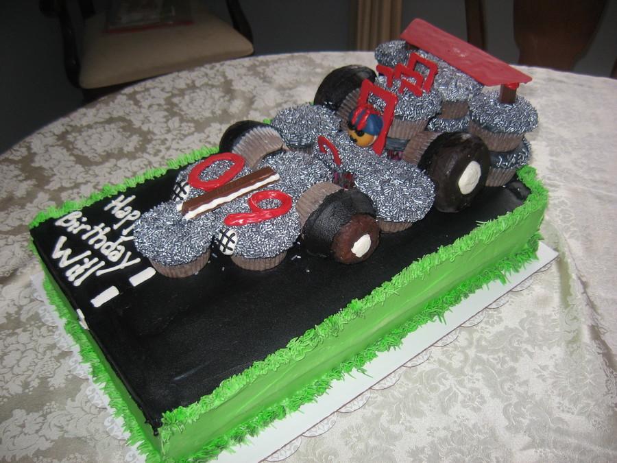 Race Car Dragster Cake Cakecentral Com