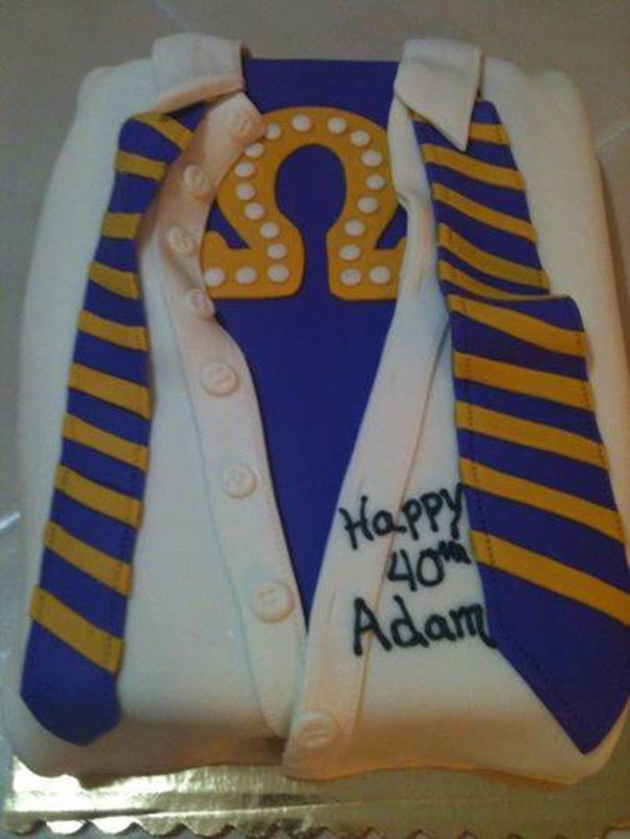 Stupendous Omega Psi Phi Fraternity Cakecentral Com Funny Birthday Cards Online Elaedamsfinfo