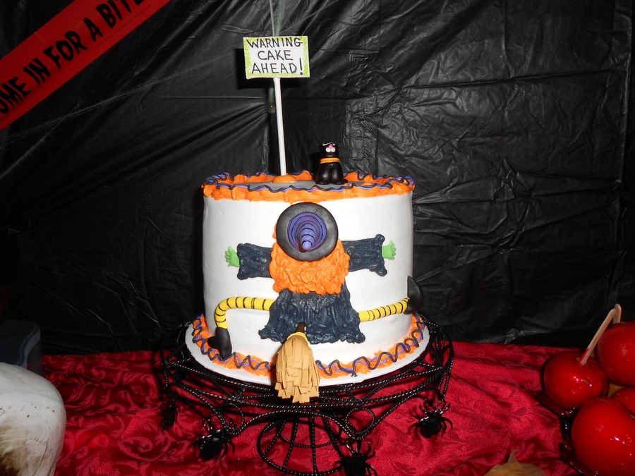 Crashing Witch on Cake Central