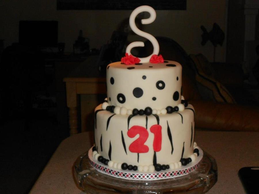 Shenlee's 21St Birthday on Cake Central