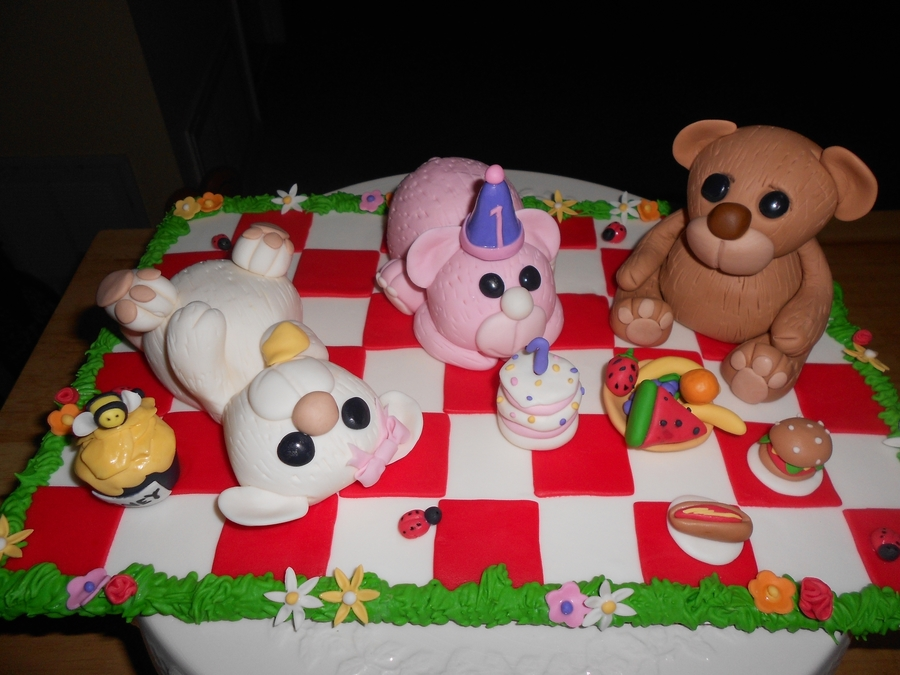 Bears Picnic on Cake Central