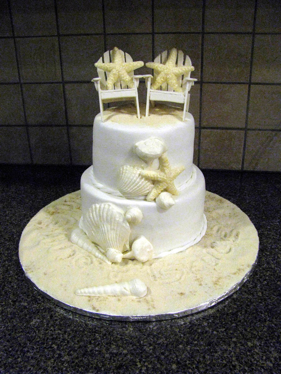Seaside Wedding on Cake Central