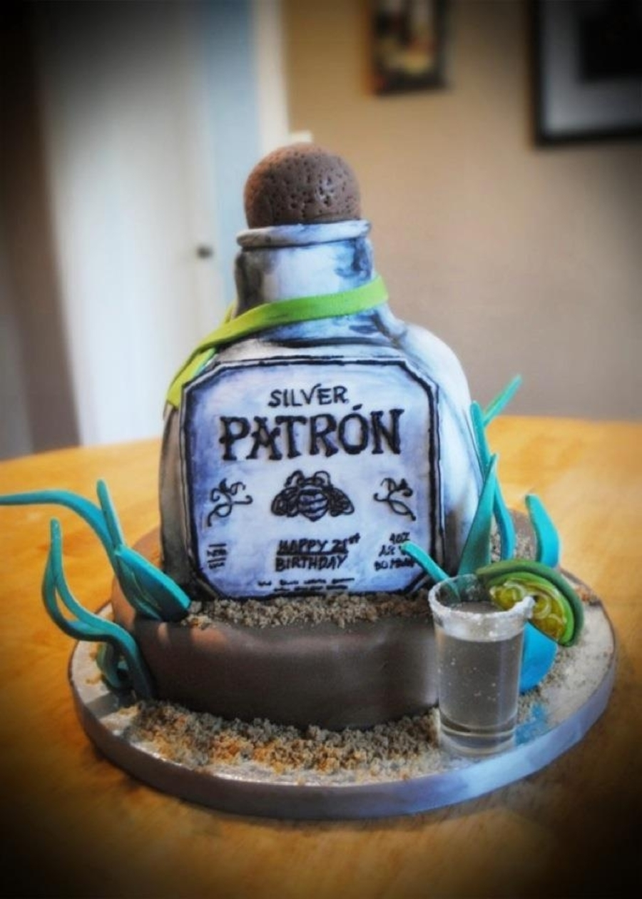 Patron Silver Cake on Cake Central