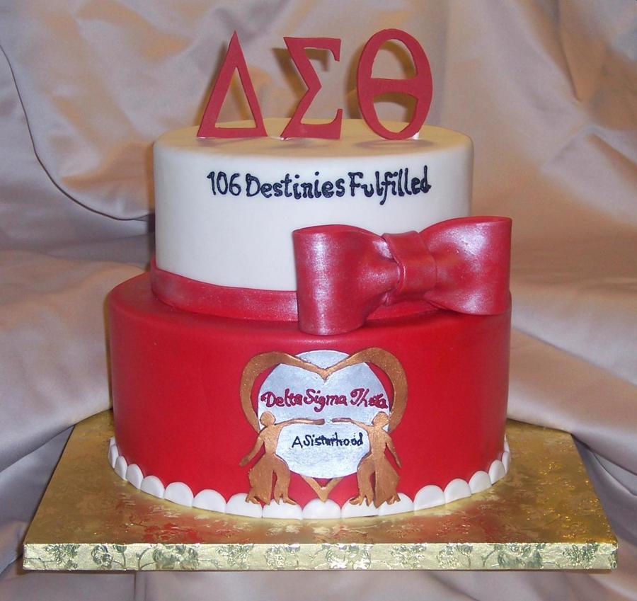 Delta Sigma Theta Sorority Incorporated Cakecentral Com