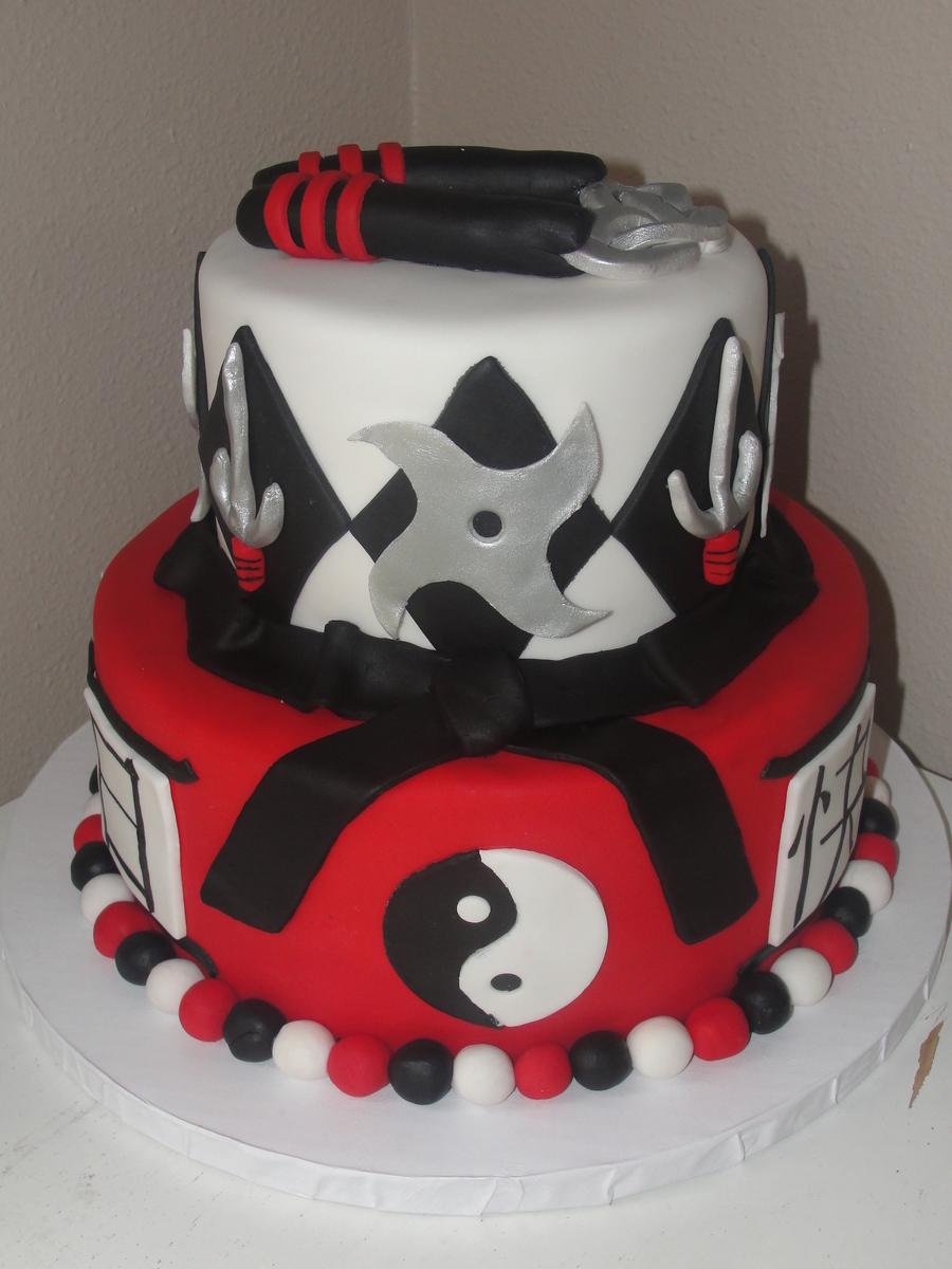 Karate Cake Cakecentral Com