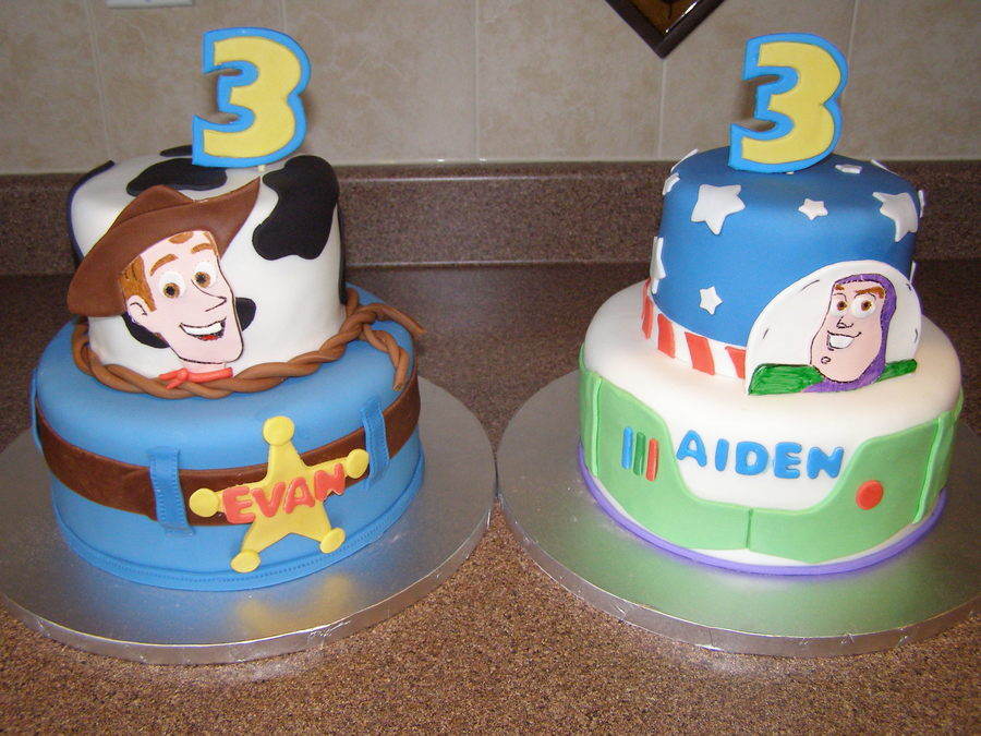 Toy Story Cakes For Boys : Toy story cakes for twins cakecentral