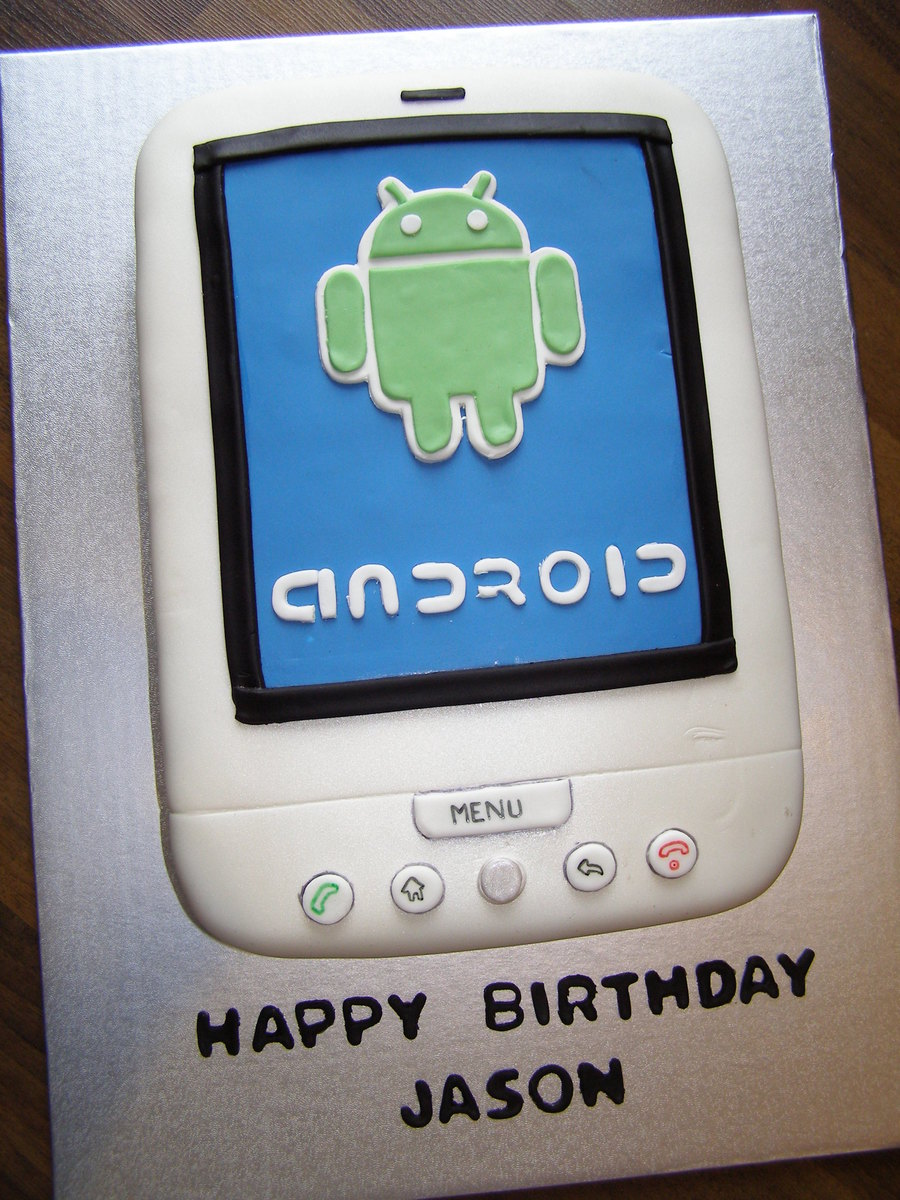 Android Phone on Cake Central