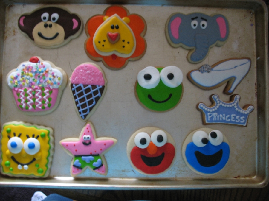 Kids Birthday Cookies on Cake Central