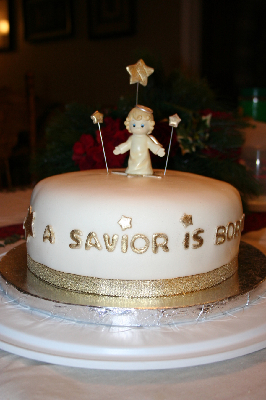 A Savior Is Born on Cake Central