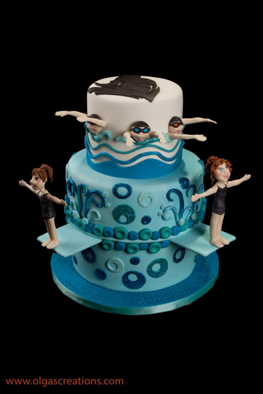 Girl S Swim Team Banquet Cakecentral Com