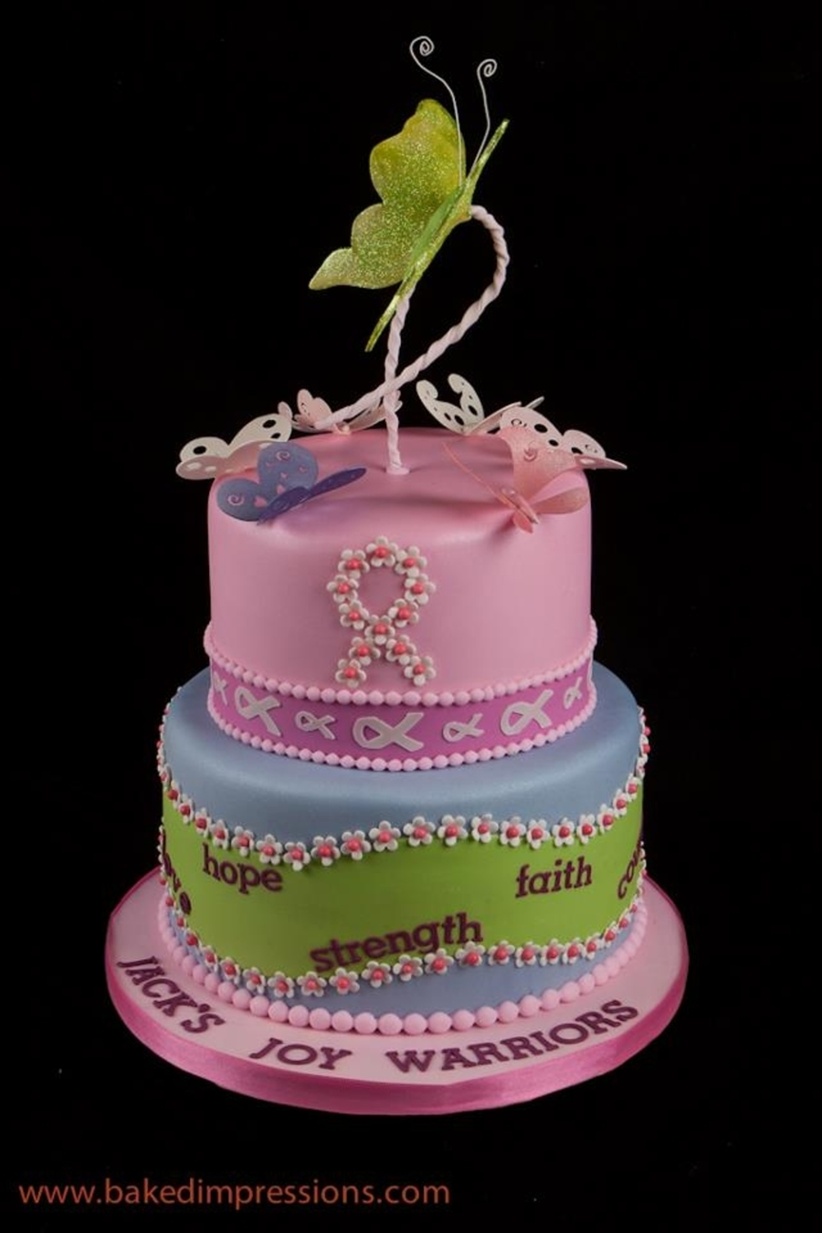 Breast Cancer Fight Birthday Cake Cakecentral Com