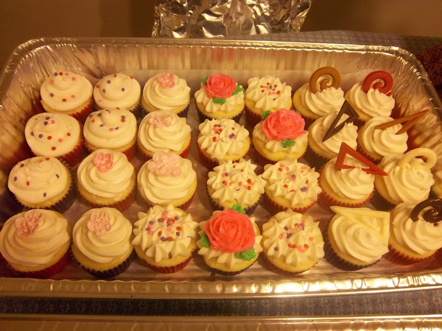 Fundraising Cuppies on Cake Central