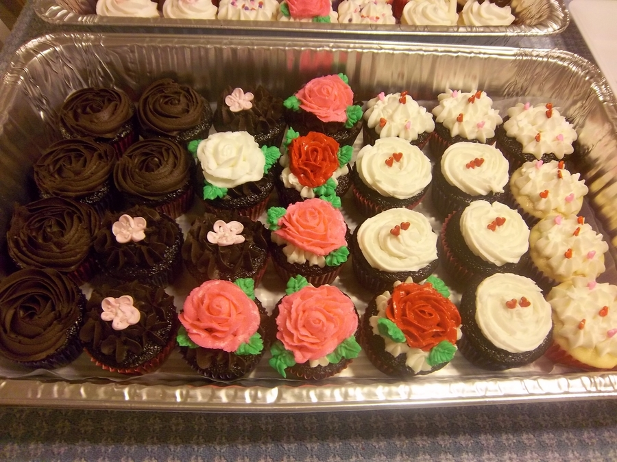 Assorted Chocolate Cuppies on Cake Central
