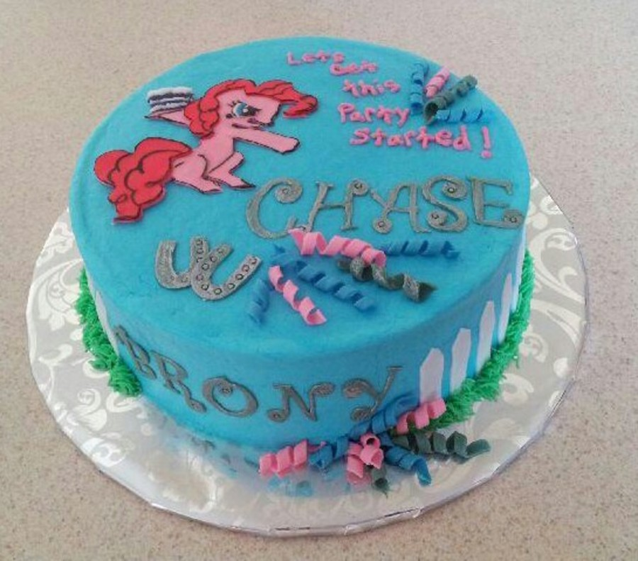 My Little Pony Brony Cake On Central Birthday Cakes