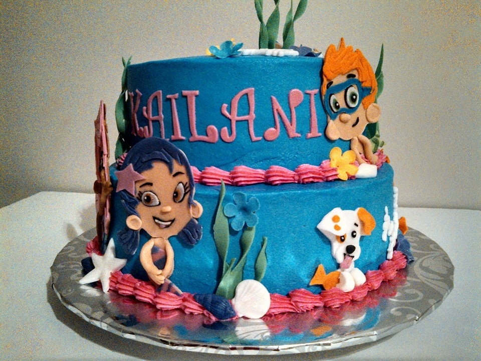 Bubble Guppies Birthday Cake At Baked By Brenda Omaha Ne  ~ 043850_Birthday Party Ideas Omaha