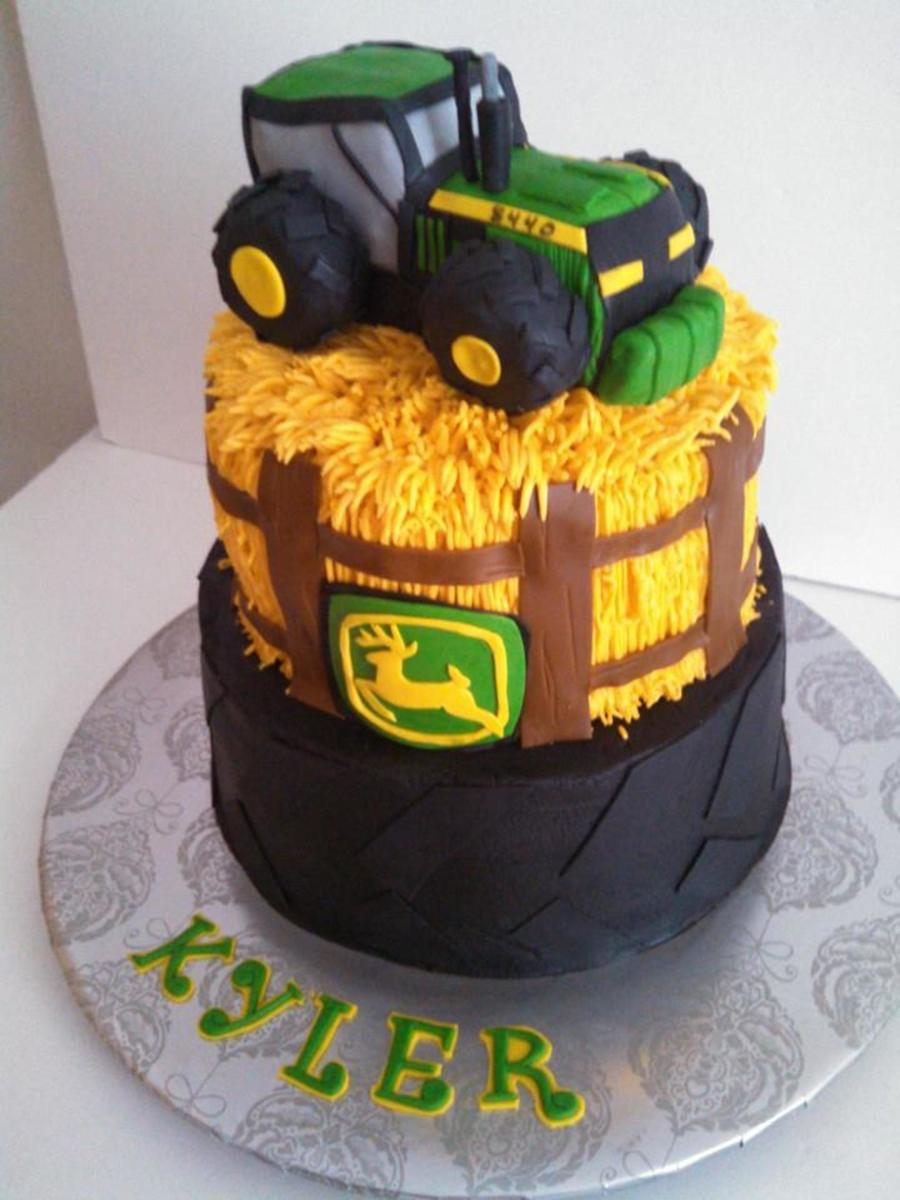 Tractor Cake First Borthday