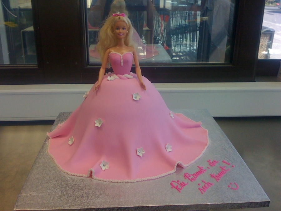 Pink Barbie on Cake Central