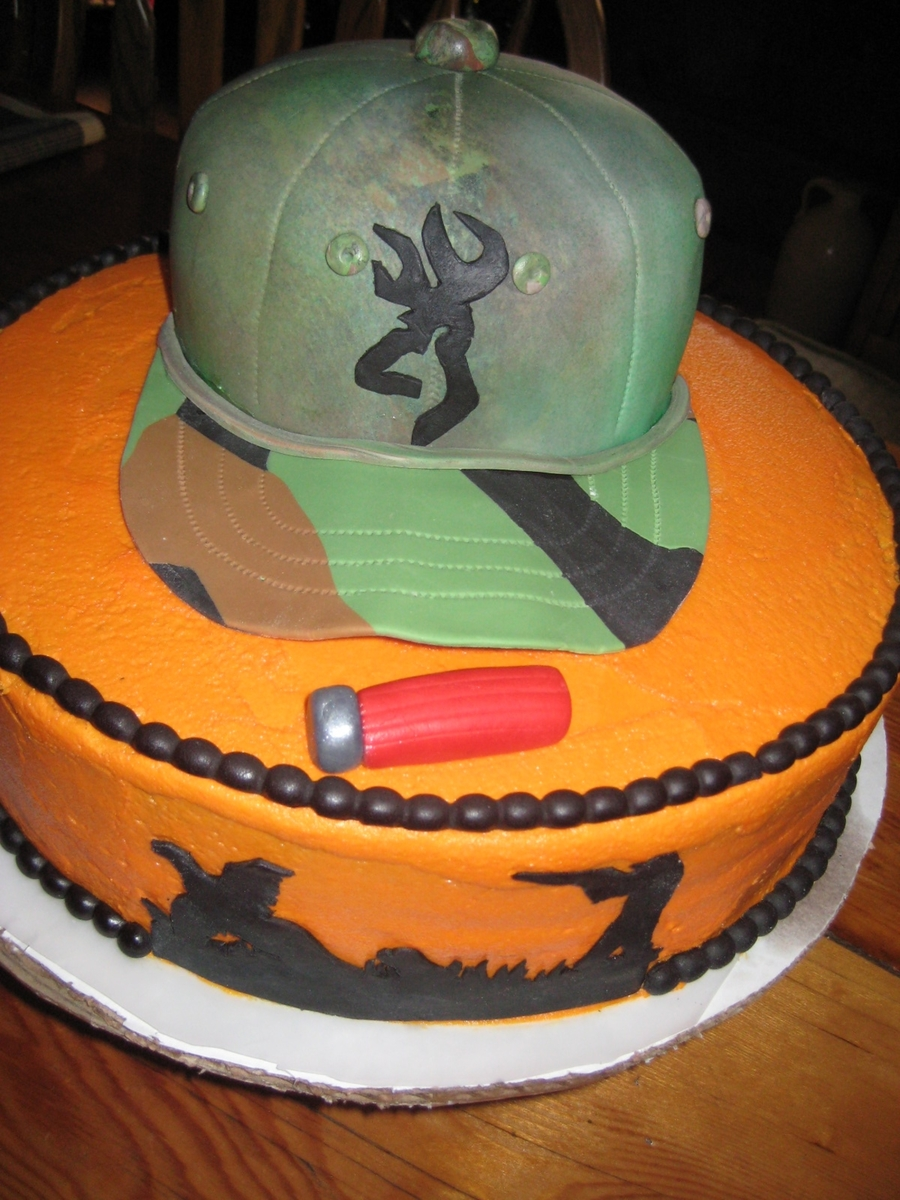 Hunting Hat on Cake Central