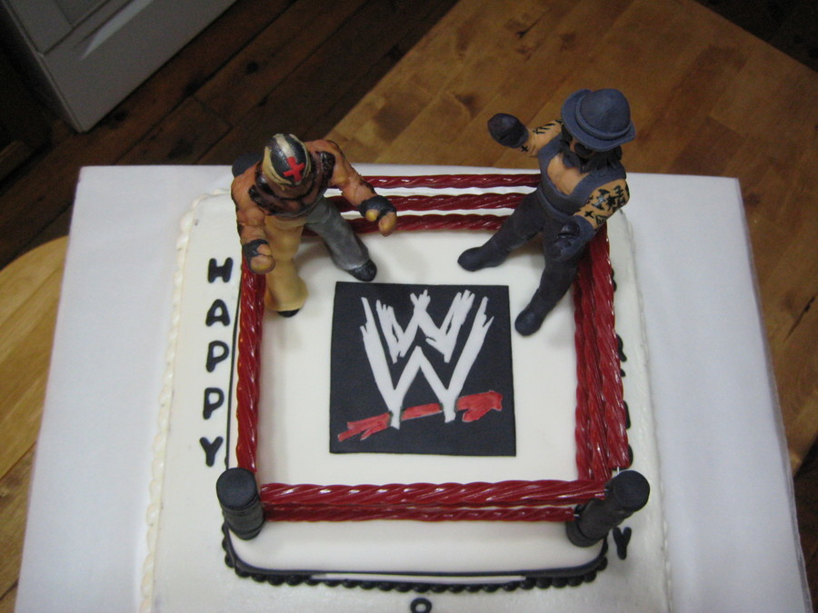Wrestling Cake Ray Vs Undertaker Cakecentral