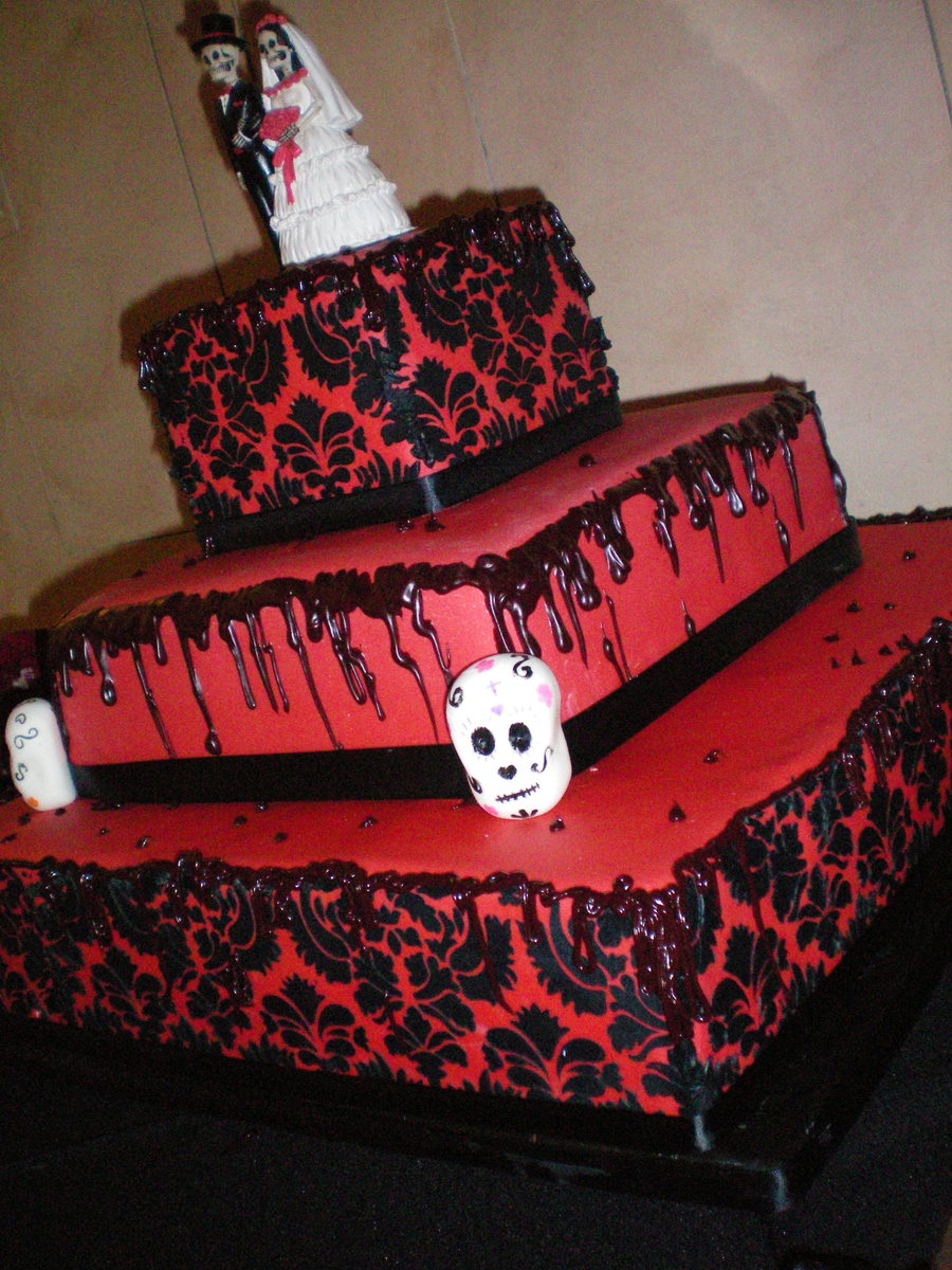 Dia De Los Muertos- Day Of The Dead Wedding on Cake Central
