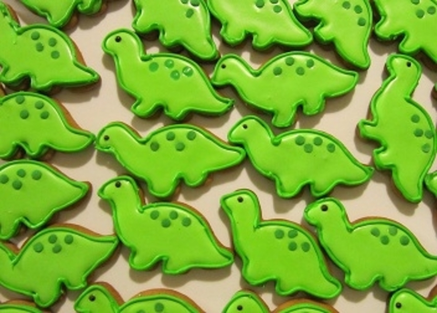 Dinosaur Cookies on Cake Central