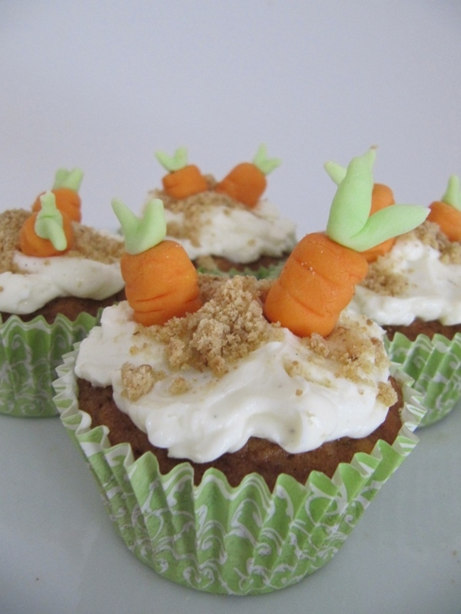 Carrot Apple Cupcakes  on Cake Central