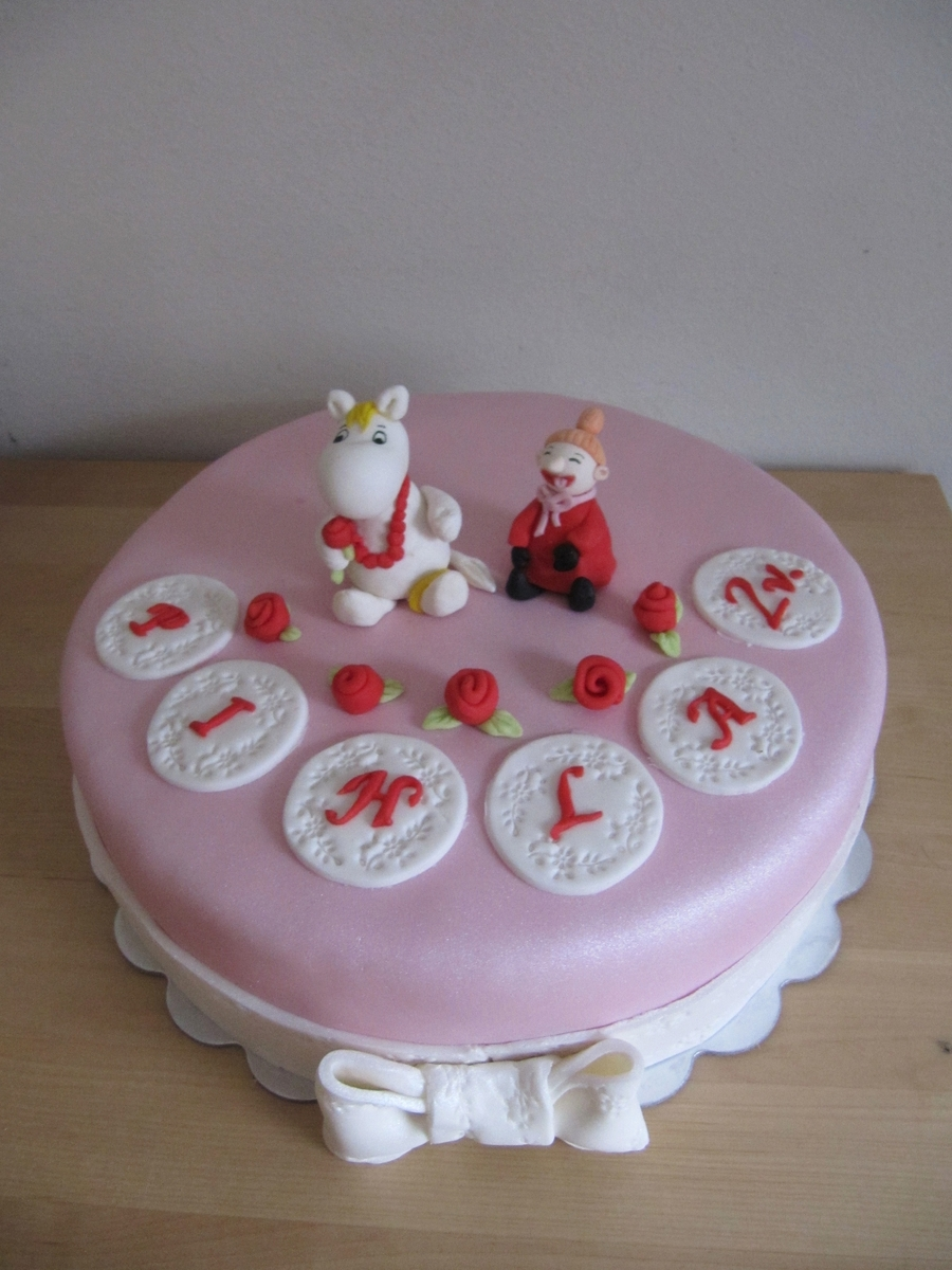 Moomin Cake on Cake Central