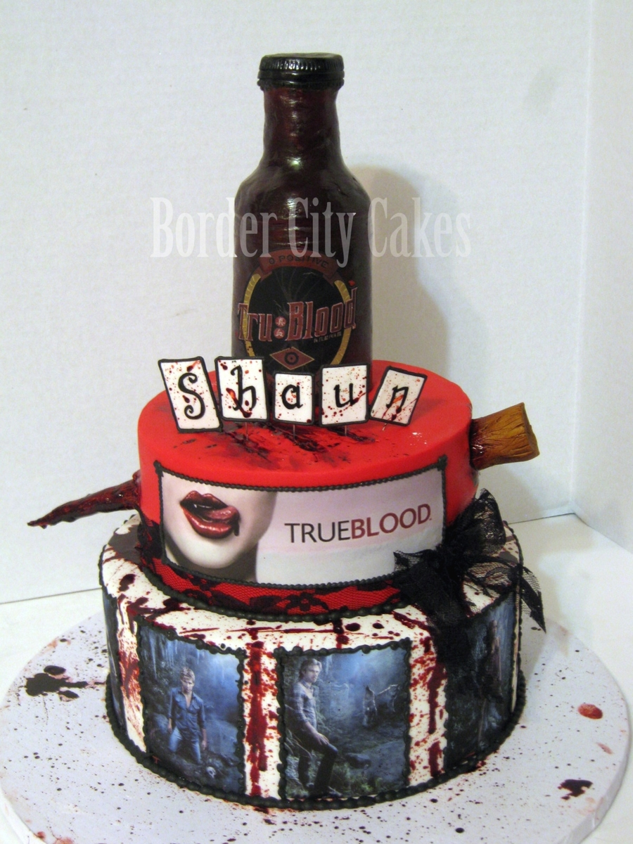 True Blood Cake on Cake Central